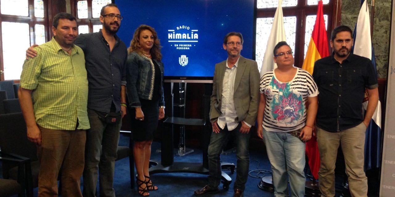 Presentación en rueda de prensa de Radio Himalia